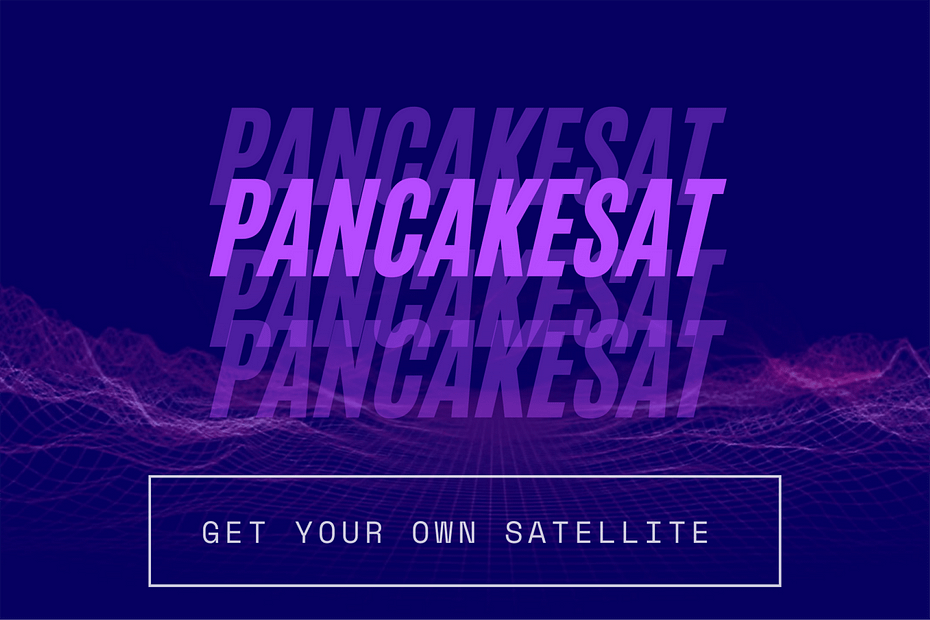 PancakeSat cover for ucluster
